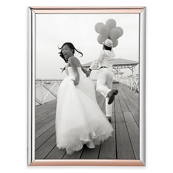 Alternate image 1 for kate spade new york Rosy Glow™ 5-Inch x 7-Inch Picture Frame