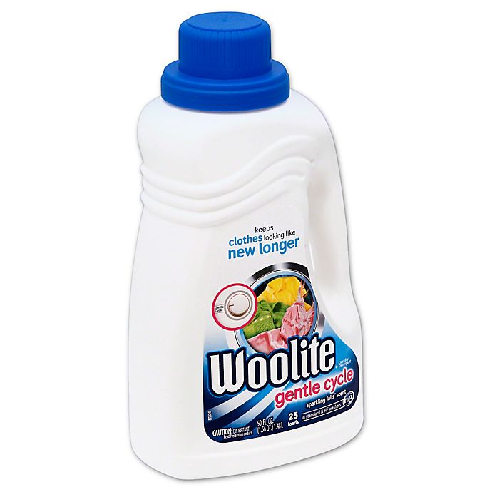 Alternate image 1 for Woolite® Gentle Cycle Laundry Detergent 50 oz. Sparkling falls Scent