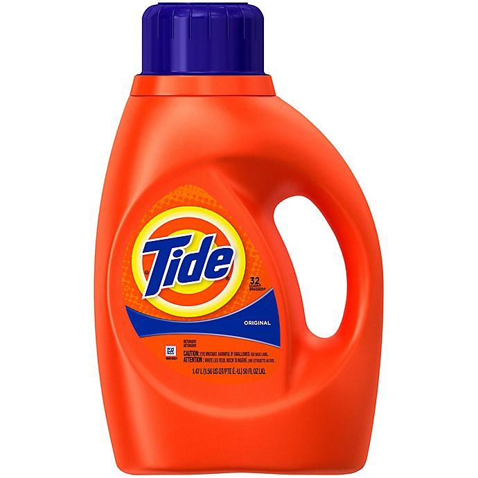 Alternate image 1 for Tide® Original 50 oz. 2x Liquid Laundry Detergent in Original Scent