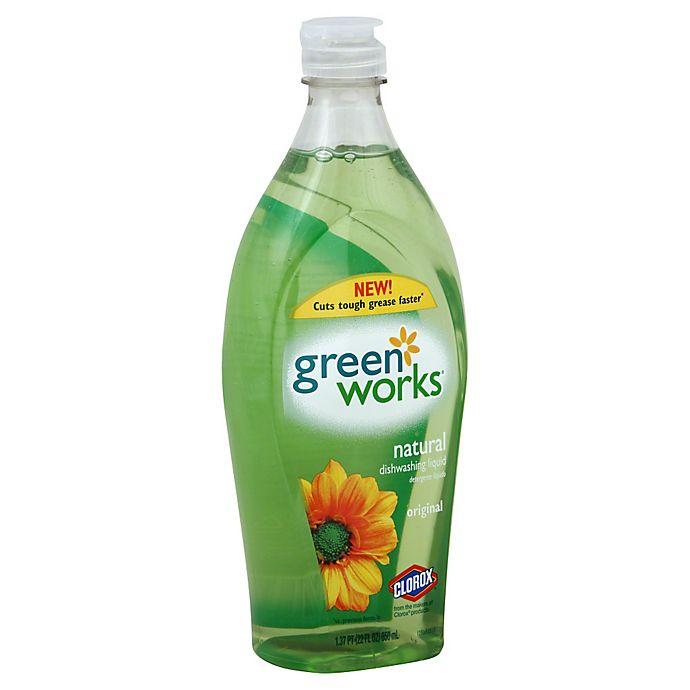Alternate image 1 for Clorox® Green Works 22 oz. Natural Dishwashing Liquid
