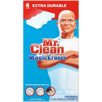 Mr Clean 174 4 Count Magic Eraser Extra Power Bed Bath