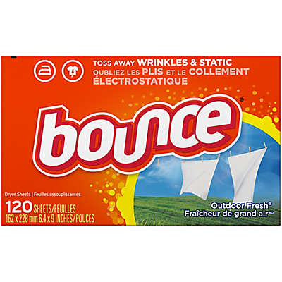 Bounce® Outdoor Fresh™ 4-in-1 120-Count Fabric Softener Dryer Sheets in Fresh Linen