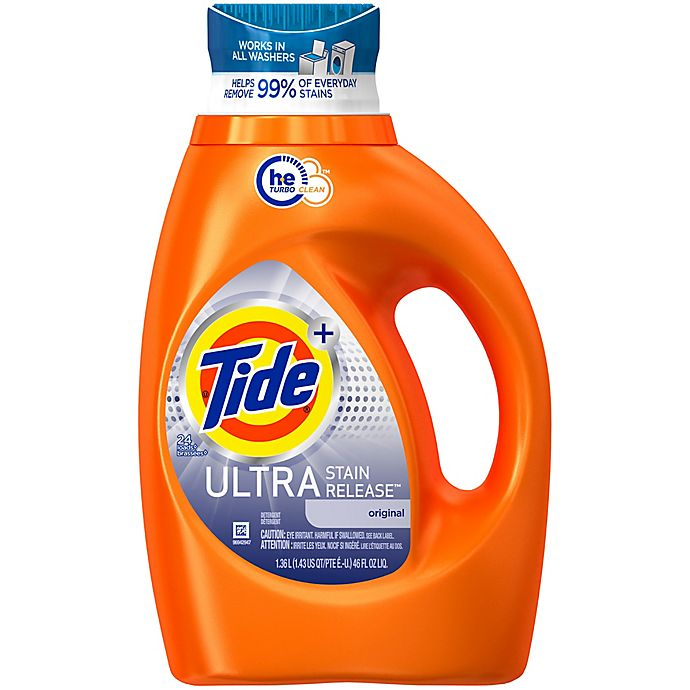 Alternate image 1 for Tide® Ultra Stain Release™ 46 oz. High Efficiency Liquid Laundry Detergent