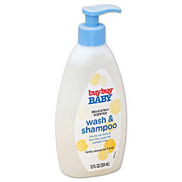 buybuy BABY™ 12 oz. Wash and Shampoo Baby Wash Delicately Scented