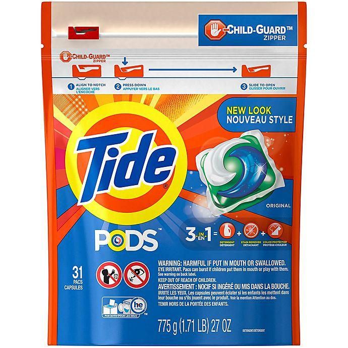 Alternate image 1 for Tide® PODS 31-Count Laundry Detergent in Original