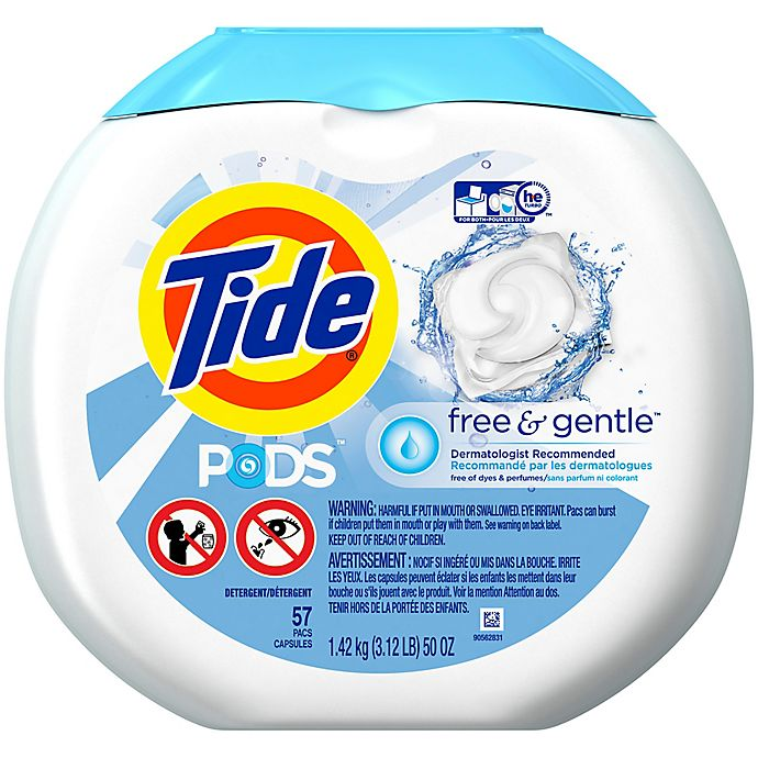 Alternate image 1 for Tide® PODS 57-Count Laundry Detergent in Free and Clear
