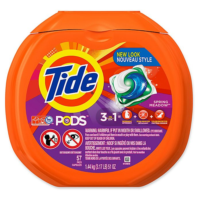 Alternate image 1 for Tide® PODS 57-Count Laundry Detergent in Spring Meadow