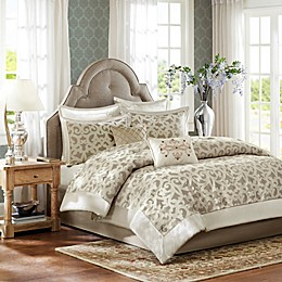 Madison Park Kingsley 8-Piece Comforter Set in Ivory