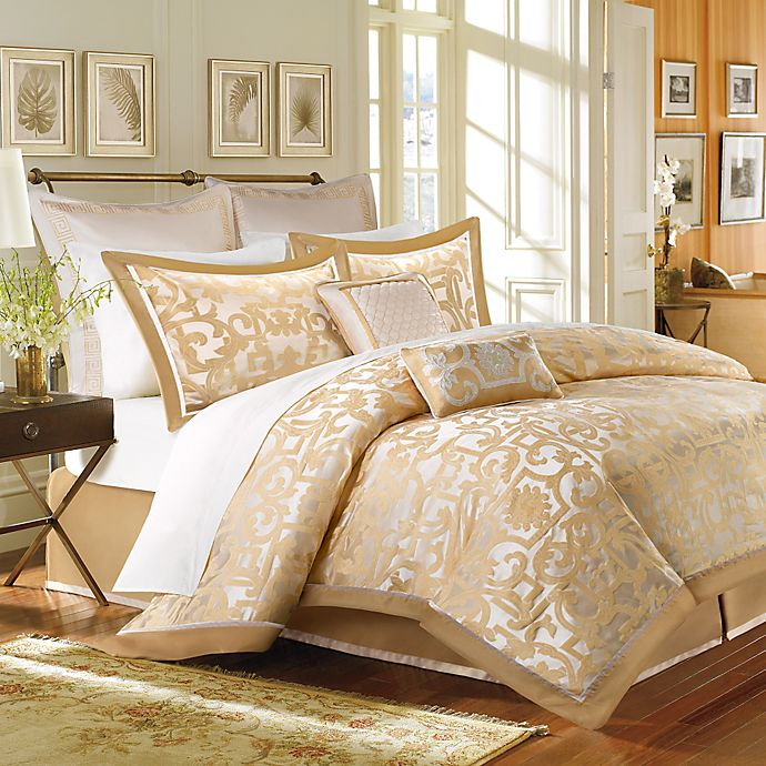 e151a7b93e8d Madison Park Castello 8-Piece Comforter Set | Bed Bath & Beyond