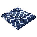 Madison Park Ogee Oversized Throw in Indigo