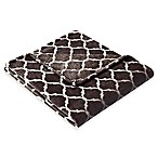 Madison Park Ogee Oversized Throw in Brown