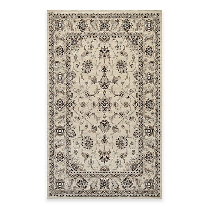 Alternate image 1 for Couristan® Everest Rosetta 2-Foot x 3-Foot 7-Inch Accent Rug in Ivory