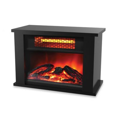 Lifezone Electric Infrared Fireplace Heater Bed Bath