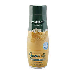 sodastream® Fountain Style Ginger Ale Flavored Sparkling Drink Mix