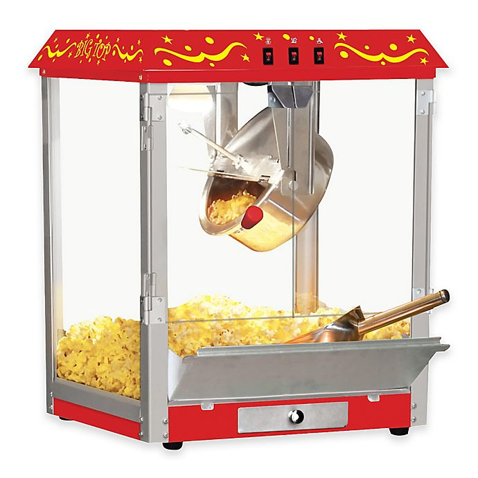 2efe02a5bd Big Top Tabletop Popcorn Machine in Red