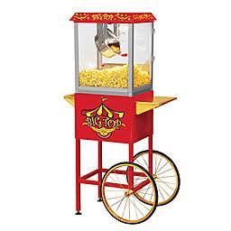 Big Top Popcorn Cart in Red