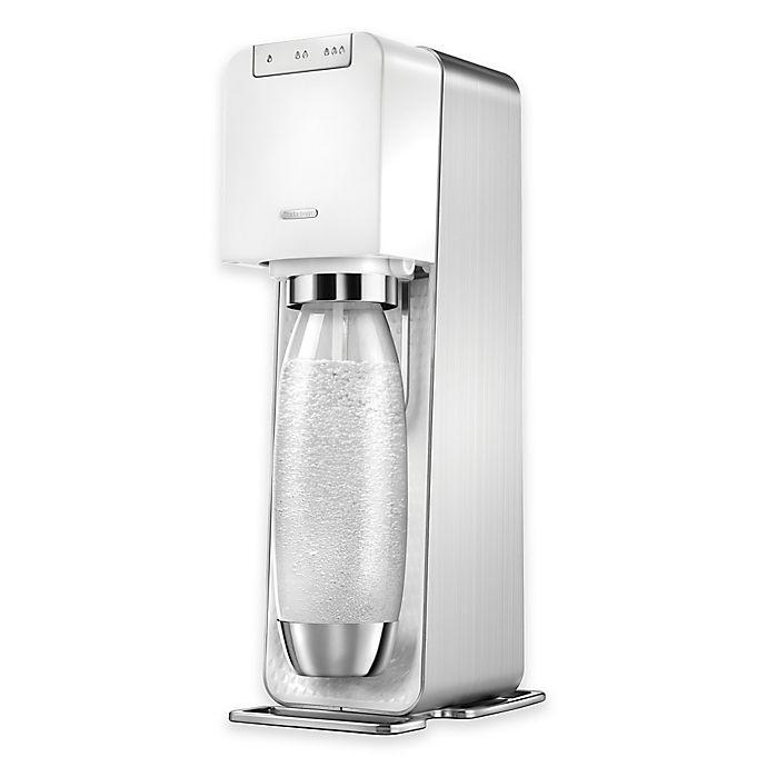 Alternate image 1 for sodastream® Power Sparkling Water Maker in White