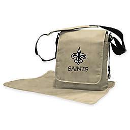 Lil Fan® NFL New Orleans Saints Messenger Diaper Bag