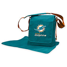 Lil Fan® NFL Miami Dolphins Messenger Diaper Bag