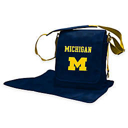 Lil Fan® University of Michigan Messenger Diaper Bag
