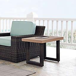 Crosley Beaufort Outdoor Wicker Side Table