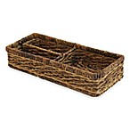 Baum Montego Bay Divided Storage Basket
