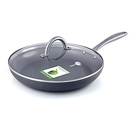 GreenPan™ Lima Ceramic Nonstick 12-Inch Covered Fry Pan in Grey