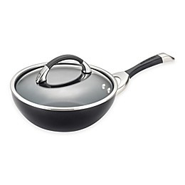 Circulon® Symmetry™ Hard Anodized Nonstick 9.5-Inch Covered Stir Fry Pan