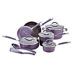 Rachael Ray™ Cucina Hard Enamel Nonstick 12-Piece Cookware Set in Lavender