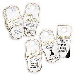 Lillian Rose™15-Count Wedding Door Hangers