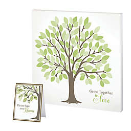 Lillian Rose™ Signing Tree 13-Inch Square Canvas