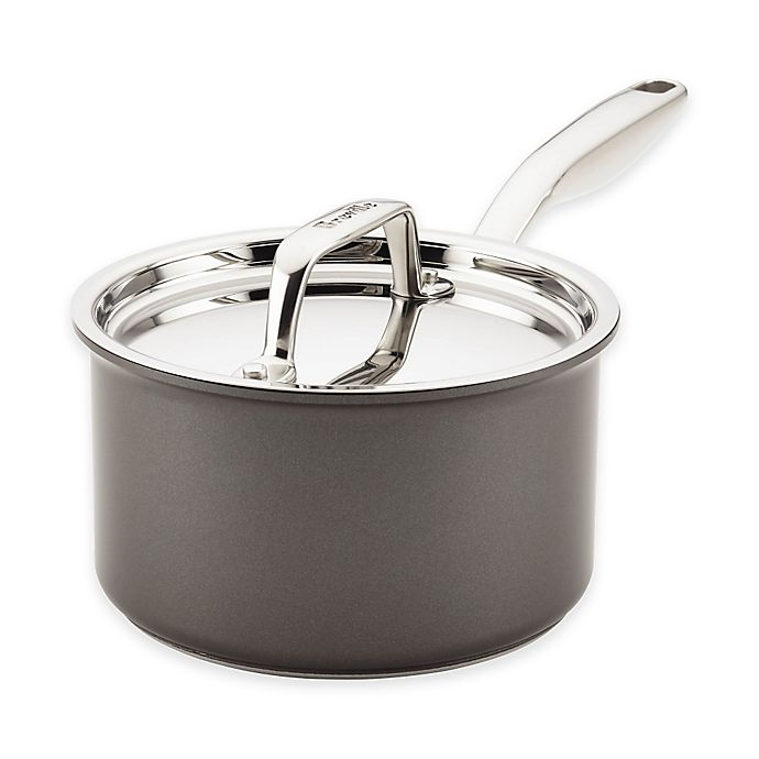 Alternate image 1 for Breville® Thermal Pro™ Hard Anodized Nonstick 2 qt. Covered Saucepan