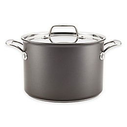 Breville® Thermal Pro™ Hard Anodized Nonstick 8 qt. Covered Stock Pot