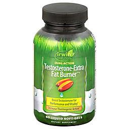 Irwin Naturals® 60-Count Testosterone-Extra Fat Burner Dual Action Softgels