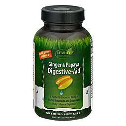 Irwin Naturals® 60-Count Digestive Aid Liquid Softgels with Ginger & Papaya