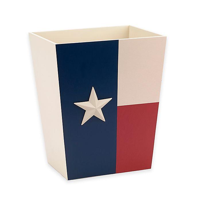 Alternate image 1 for Avanti Texas State Flag Wastebasket in Red/White/Blue