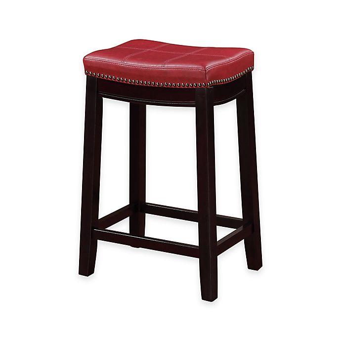 Alternate image 1 for Claridge 24-Inch Bar Stool in Red