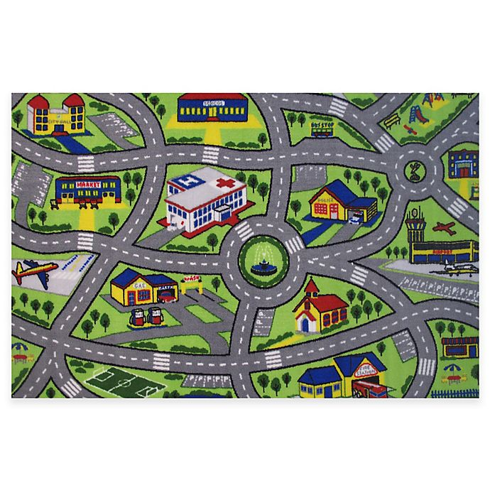 Fun Rugs Driving Area Rug Bed