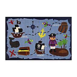 Fun Rugs™ Ahoy Matey 3-Foot 3-Inch x 4-Foot 10-Inch Accent Rug