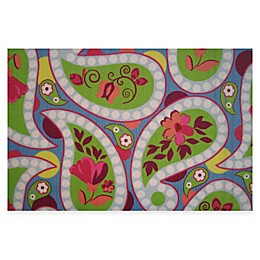 Fun Rugs™ Floral Paisleys 3-Foot 3-Inch x 4-Foot 10-Inch Accent Rug