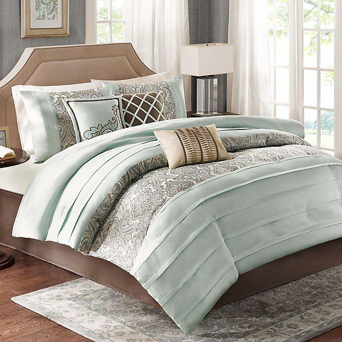 Alternate image 1 for Madison Park Bryant 7-Piece Comforter Set