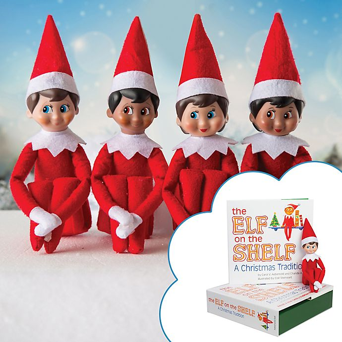 Alternate image 1 for The Elf on the Shelf® A Christmas Tradition Book Set
