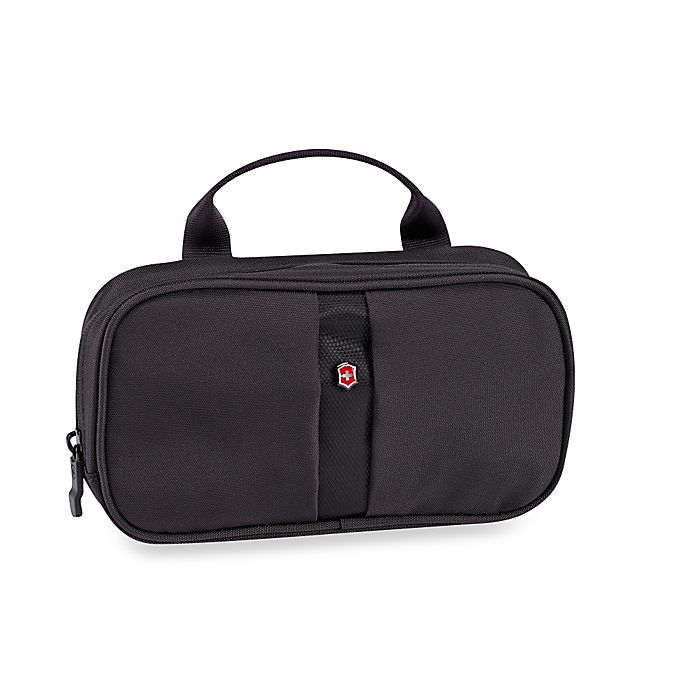 Alternate image 1 for Victorinox Small Toiletry Case in Black