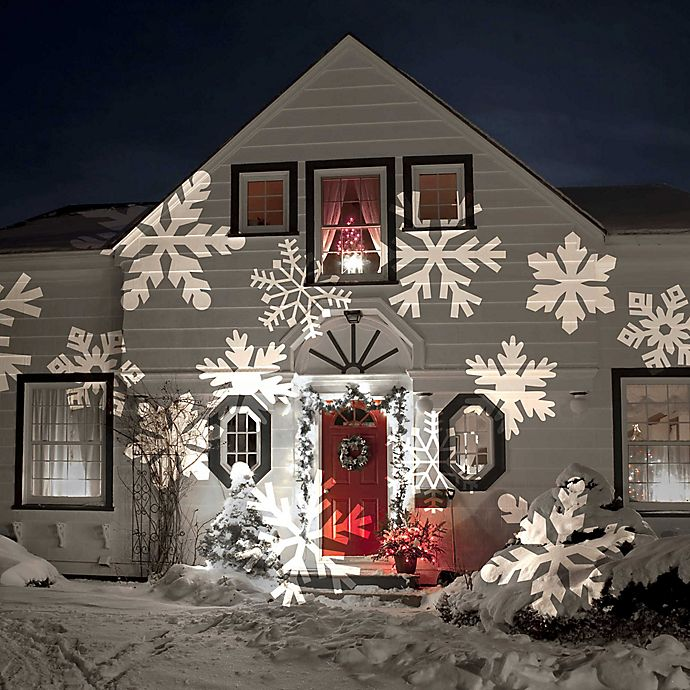 Alternate image 1 for Night Stars Celebration Series Holiday Charms Projector Light