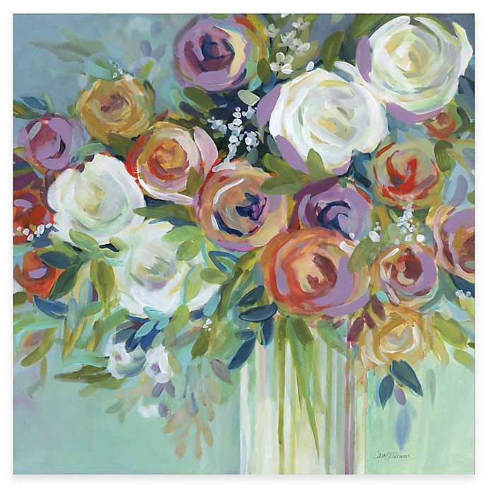 Alternate image 1 for Courtside Market Bright Flowers I Canvas Wall Art