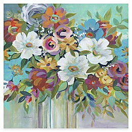Courtside Market Bright Flowers II Canvas Wall Art