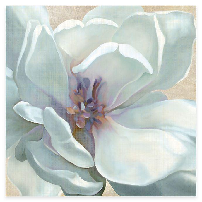 Alternate image 1 for Courtside Market White Flower I Canvas Wall Art