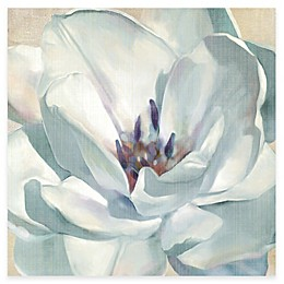 Courtside Market White Flower II Canvas Wall Art