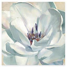 Courtside Market White Flower II Canvas Wall Art