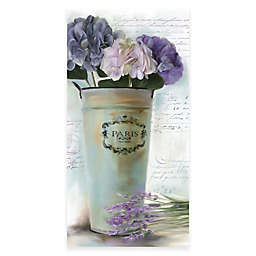 Courtside Market Lavender Vintage Floral II Canvas Wall Art